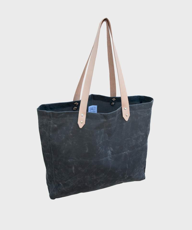 Beach Bag  |  Waxed Canvas - SALT Shop
