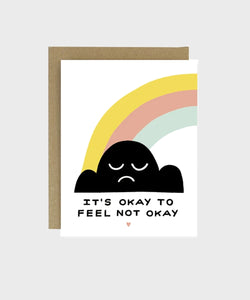 Card | Okay not to be Okay - SALT Shop