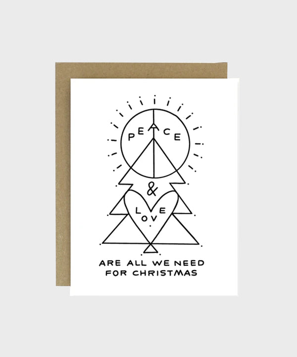 Card  |  Peace + Love - SALT Shop
