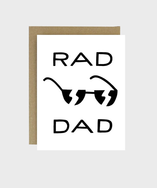 Card  |  Rad Dad - SALT Shop