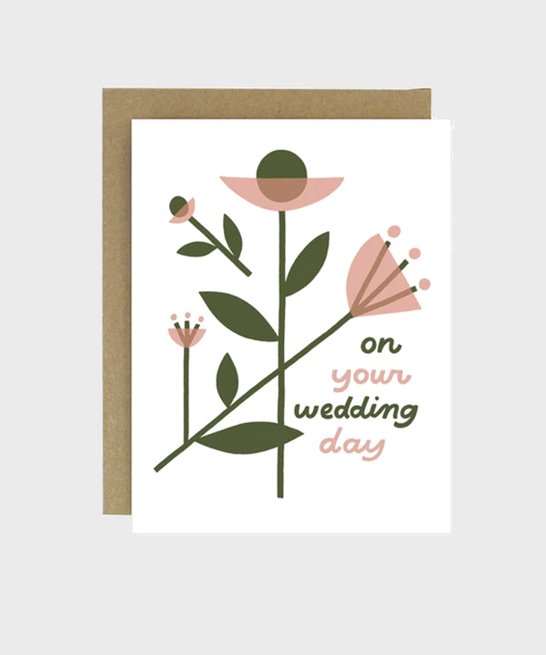 Card | Wedding Day - SALT Shop