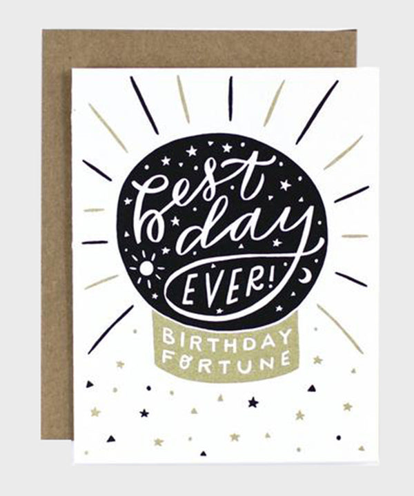 Card  |  Birthday Fortune