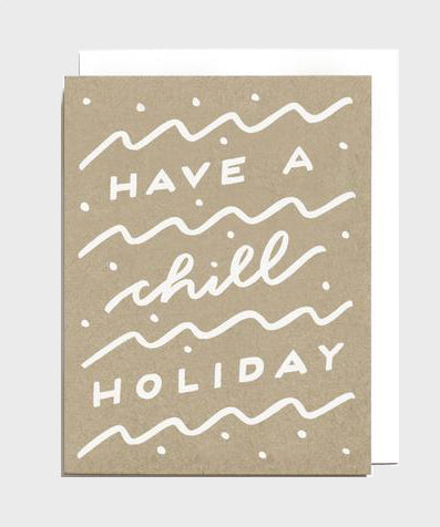 Card  |  Chill Holiday