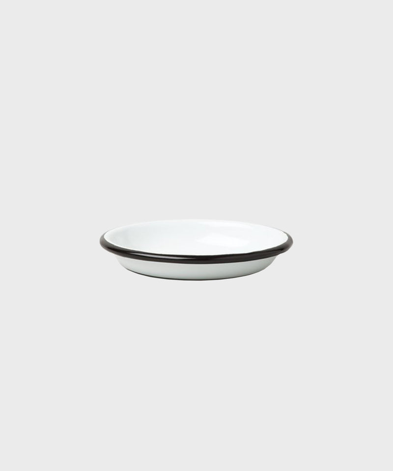 Sauce Dish  |  White + Coal Black - SALT Shop