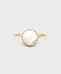 8mm Mother of Pearl Ring