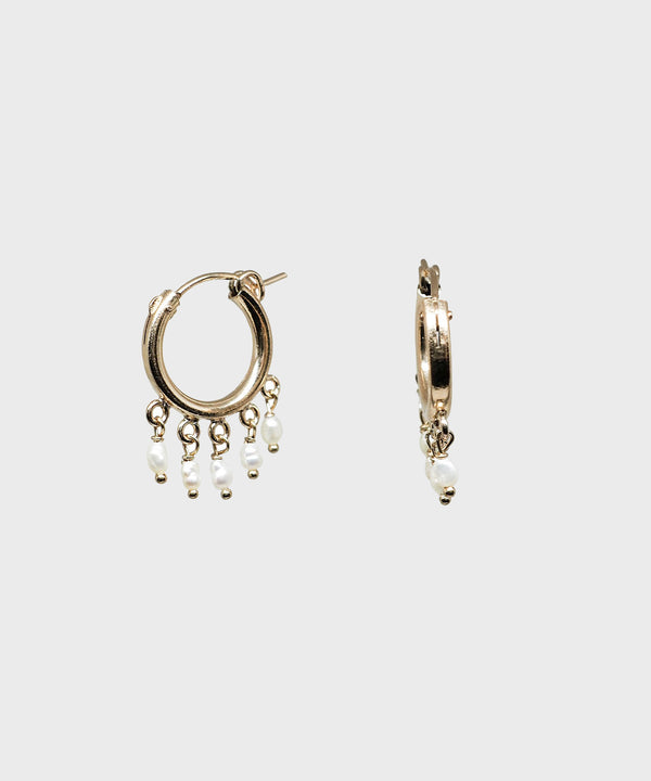 Tidal Hoop Earrings