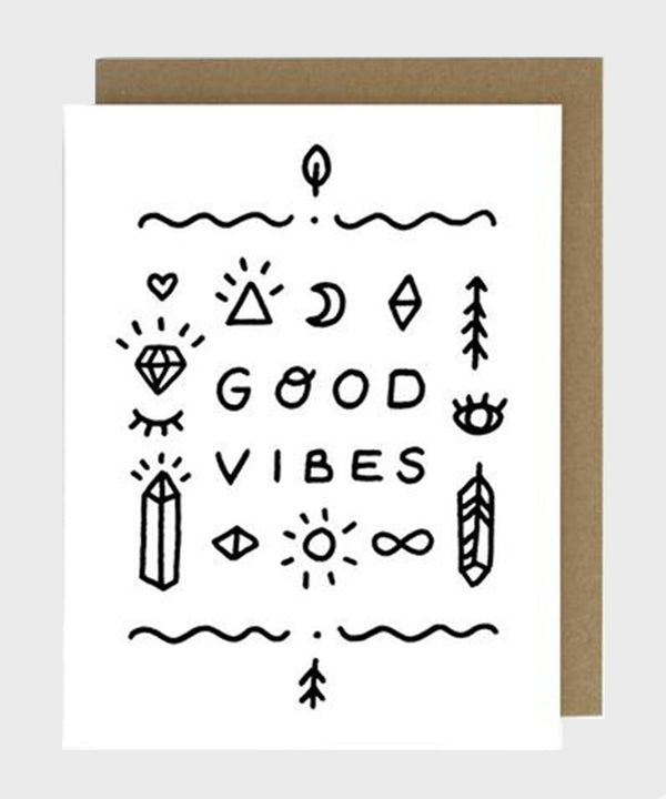 Card  |  Good Vibes - SALT Shop