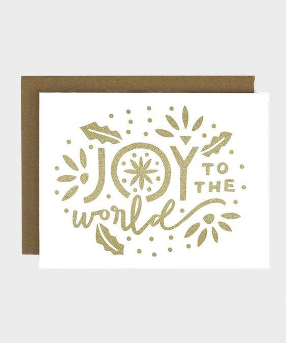 Card  |  Joy to the World - SALT Shop