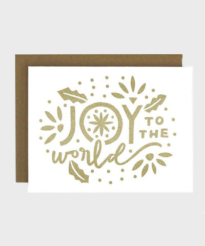 Card  |  Joy to the World