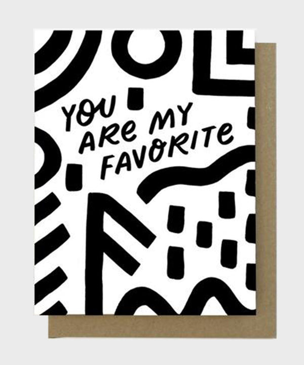 Card  |  You Are My Favourite - SALT Shop