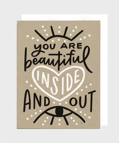 Card  |  Beautiful Inside + Out