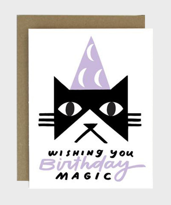 Card  |  Birthday Magic Cat