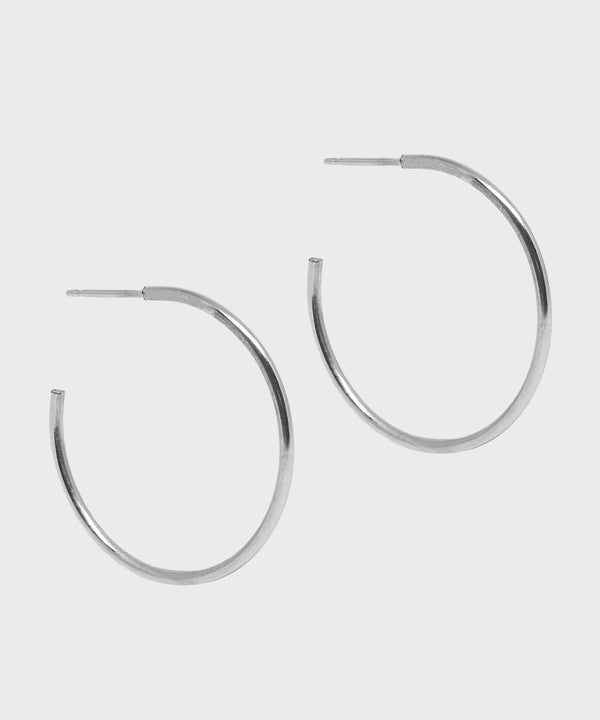 Winter Hoop Earrings