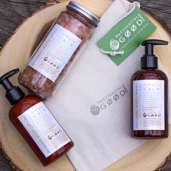 simply CALM Bath & Body Gift Set
