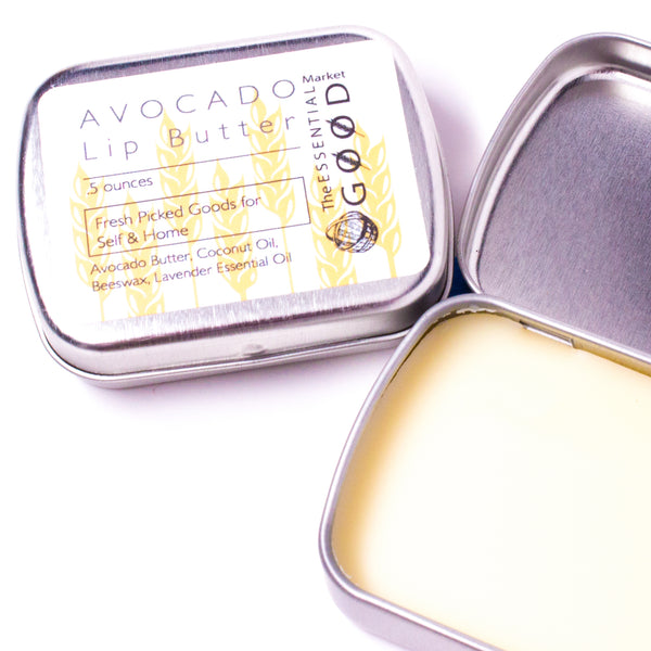 Avocado Lip Butter