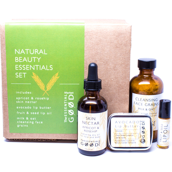 Natural Beauty Essentials Set