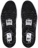Women's PUMA Suede X Shantell Martin Shoes Black/White, 7.5
