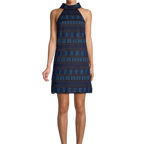 Women Trina Turk Casa Mexico Estrella Dress, Size 12, Blue