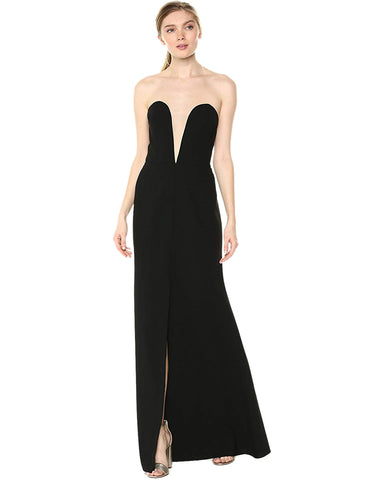 Jill Jill Stuart Women's Strapless Dress with Illusion Detail