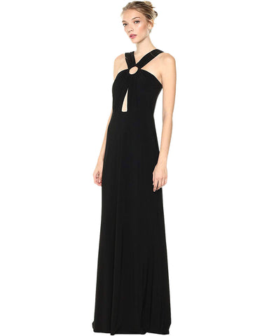 Laundry by Shelli Segal Laundy by Shelli Segal Women's Front Key Whole Gown
