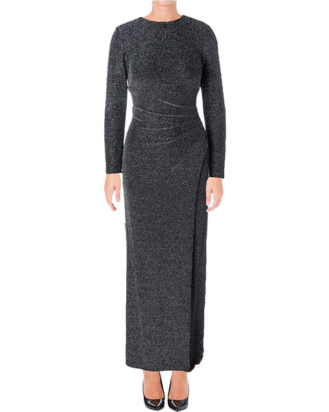 Ralph Lauren Women's New Slitted Long Sleeve Dress