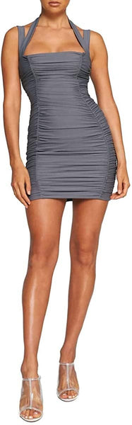 TIGER MIST Women's Tilly Body-Con Dress, Size X-Small - Grey
