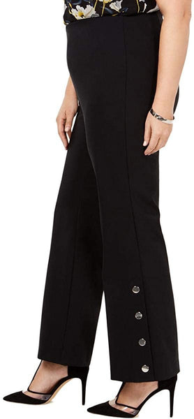 INC International Concepts Women's Plus Size Embellished Bootcut Pants