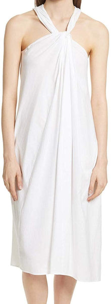 Women's Vince Twist Front Dress, Size X-Small - White