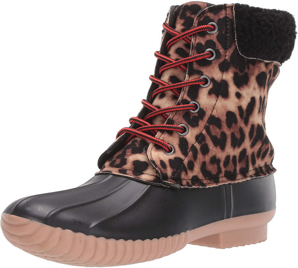 Report Women's Ulrich Snow Boot, Leopard, 9.5