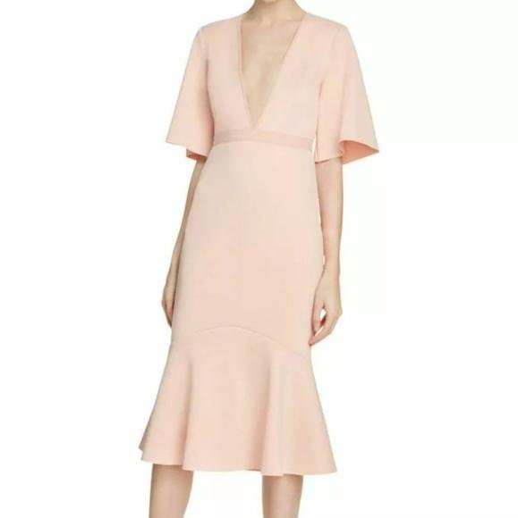 Bec & Bridge Banditti Plunge Midi Dress