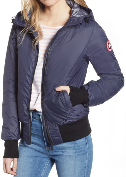 Canada Goose Women's Dore Down Hooded Jacket - Size Medium - Navy