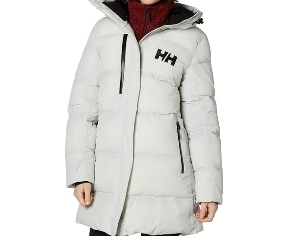 Helly Hansen Women Adore Water Puffy Parka | Size - XS | Light Gray