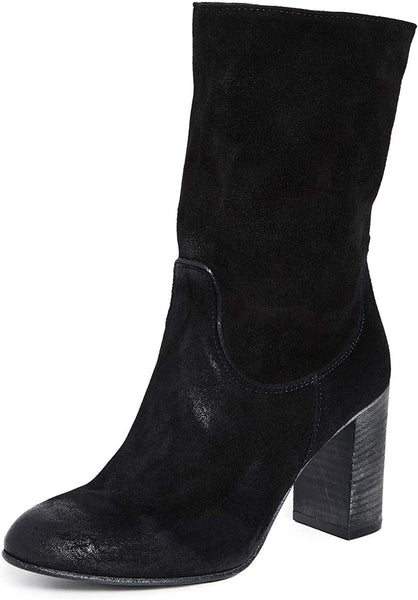 Free People Dakota Heel Boot Black 39 (US Women's 9) M