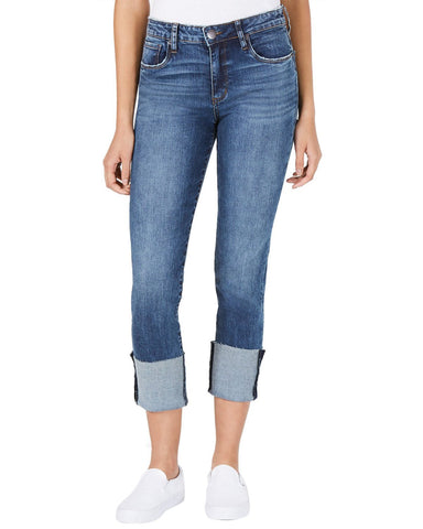 STS Blue Lucia High Rise Wide Cuff Jeans