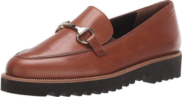 Paul Green Topper Loafer, Cognac Leather, 7.5) M