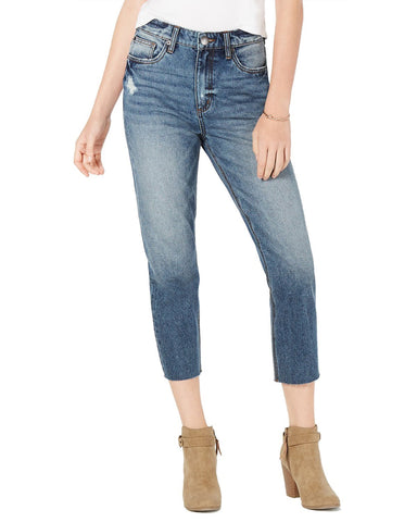 STS Blue Alicia Cropped Mom Jeans
