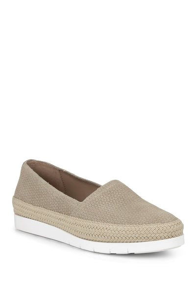 Donald Pliner Perci Casual Slip-On Espadrille Flat, Almond, 8.5