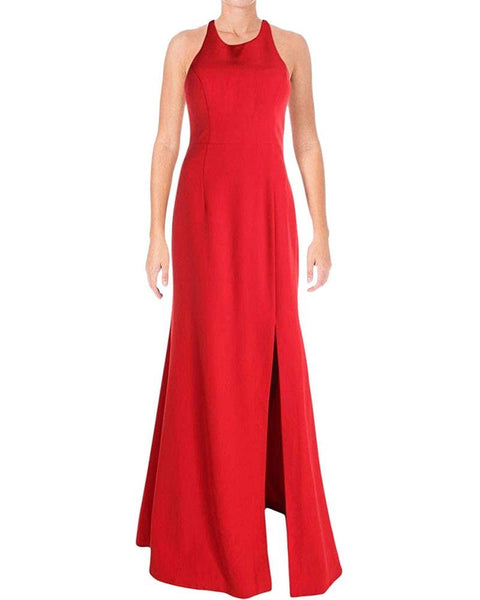 Bariano Women's Halter Special Occasion Evening Dress