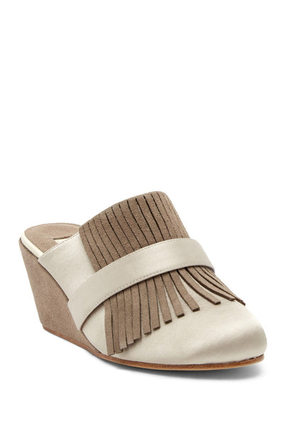 Australia Luxe Collective Aubs Wedge Mule, Taupe, 8