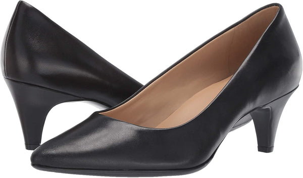 Naturalizer Women's Beverly Pumps, Black Leather,9.5 M US