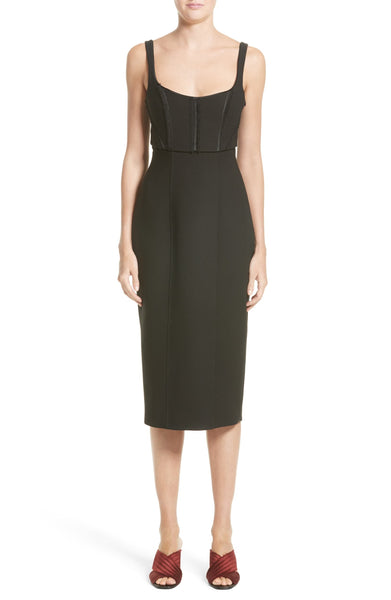 Cinq a Sept Women's Ellette Sheath Dress, Size 8 - Black