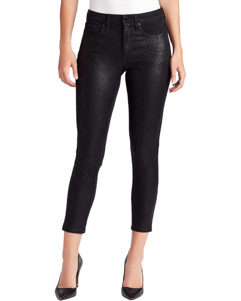 William Rast Coated Skinny Jeans