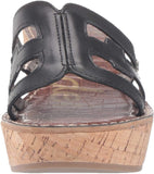 Sam Edelman Women's Regis Slide Sandals, Black Leather, 6.5