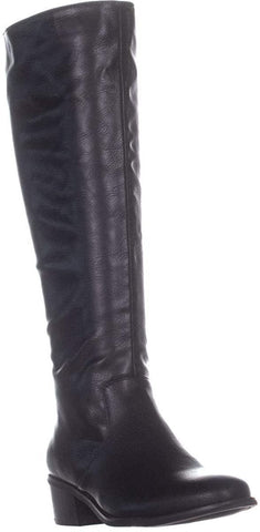 Bar III Womens Vayla Faux Leather Tall Riding Boots