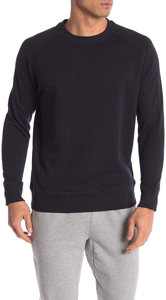 Richer Poorer Men's Raglan Sleeve Crew Neck Pullover - Size X-Large | Black