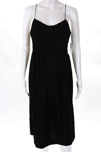 Cynthia Steffe Womens Midi Dress, 4, Black