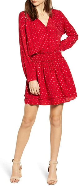 Rails Women's Jasmine Print Dress, Size Medium - Red