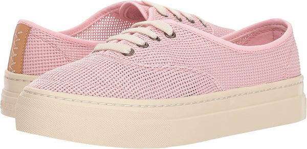 Soludos Women's Platform Mesh Sneaker Blossom Pink Boot, 8