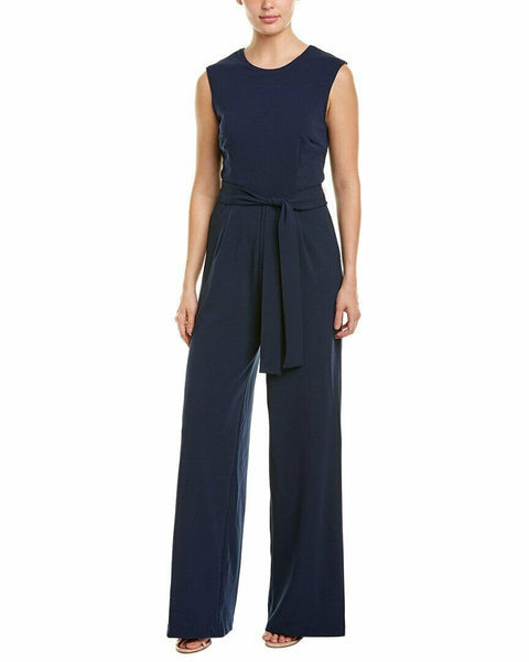 Alexia Admor Womens Jumpsuit, Blue - Medium