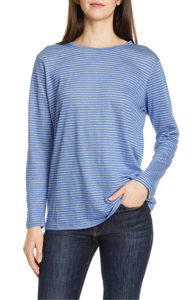 Nordstrom Signature Women's Relaxed Tee - Size X-Small | Blue